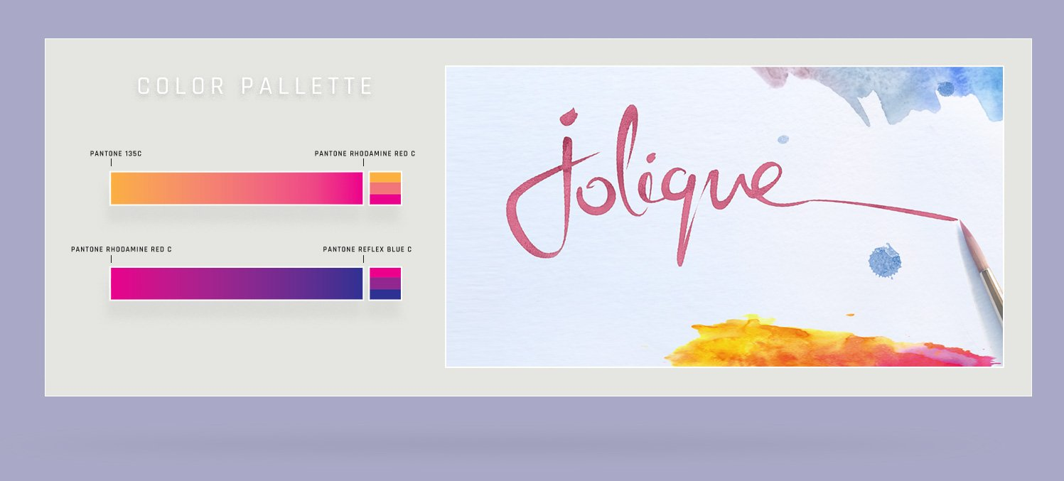 Jolique Colour Palette