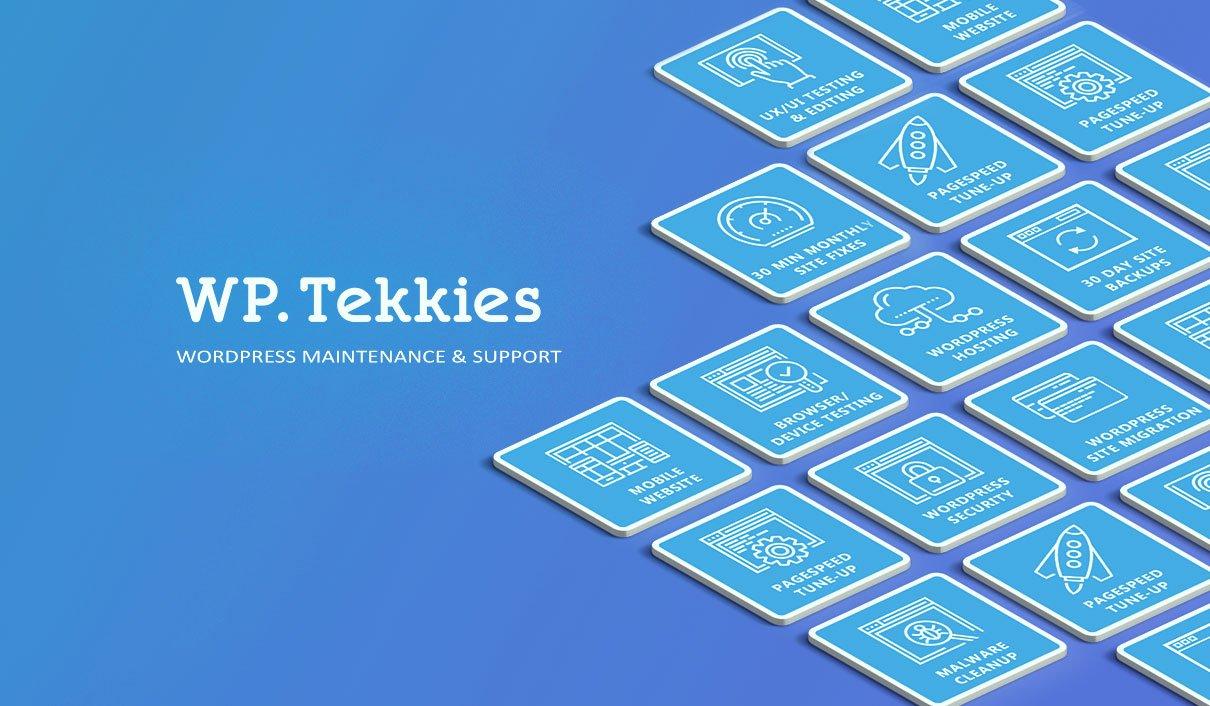WP Tekkies Title Image