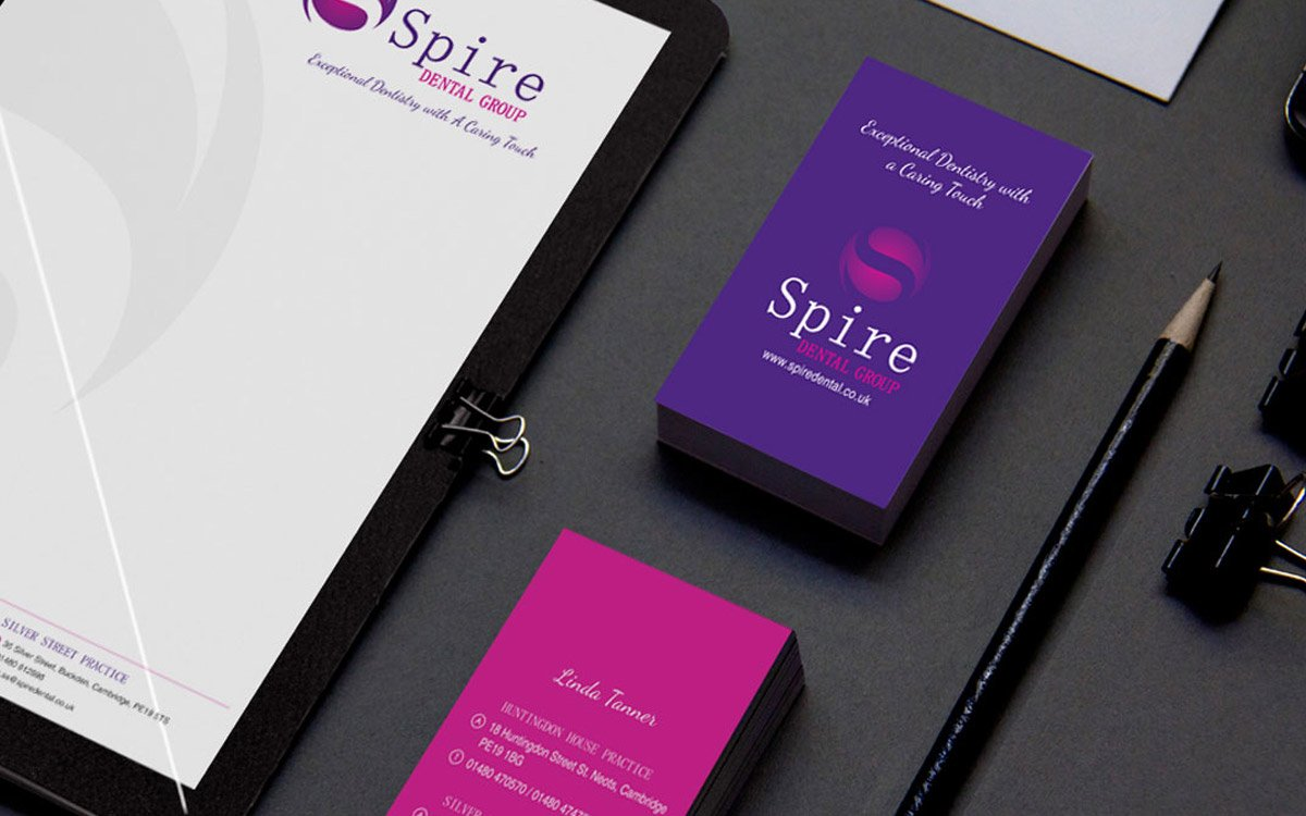 Spire Dental Stationary Design